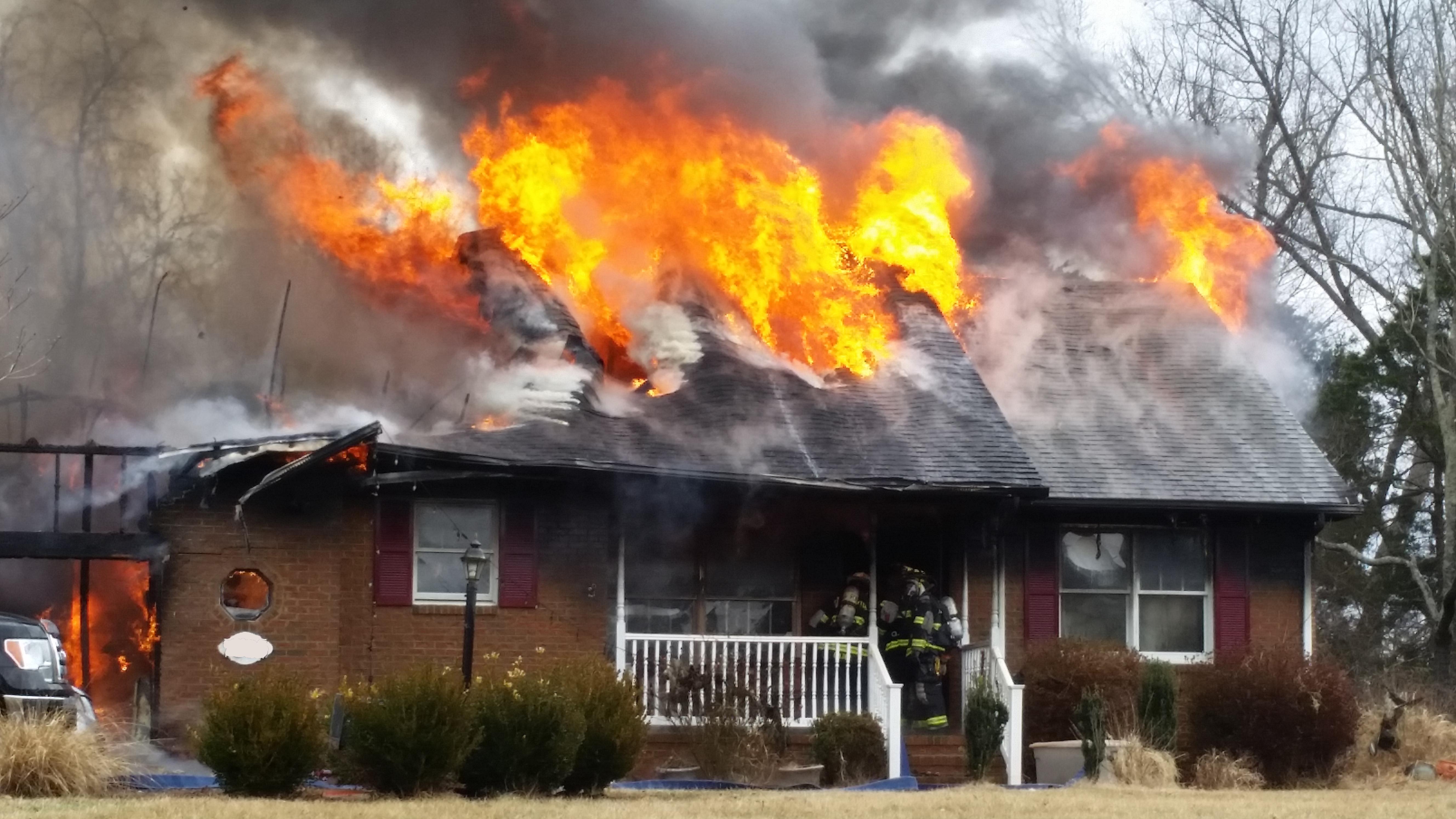 Structure Fire Porch Rd Warrenton Vol Fire Co